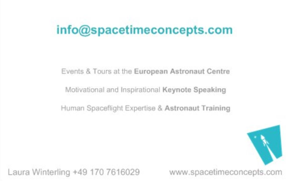 Human Spaceflight and more - Key Note Speeches and Motivational Training